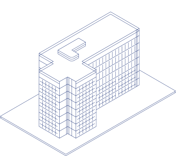 An illustration of an office building