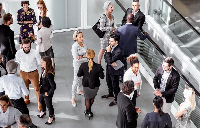 grupo de empresarios internacionales