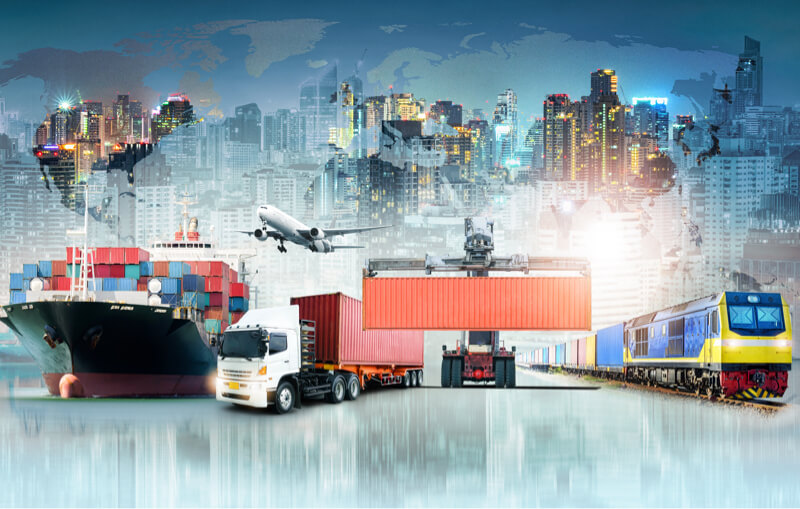 operaciones de la cadena de suministro internacional