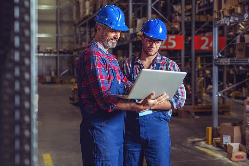 industria de fabricación de inventario