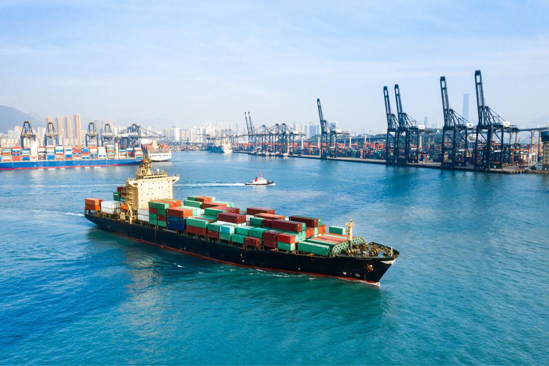 carga comercial de exportación