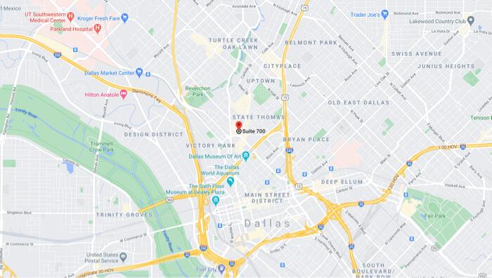 Mapa dallas