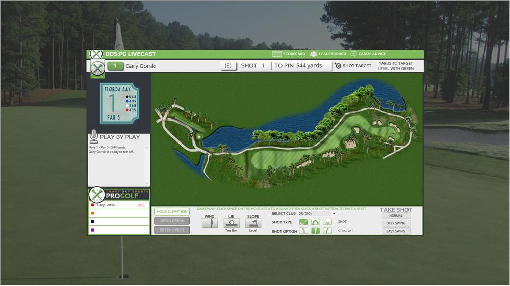 pro golf quick play