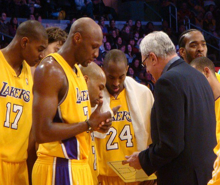 Phil Jackson basketball coach