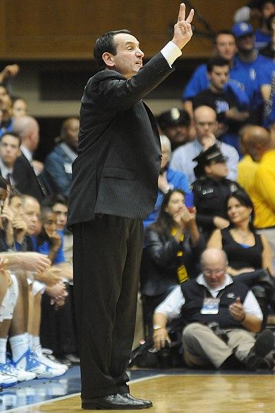 Mike Krzyzewski basketball coach