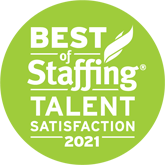 best of staffing talent award