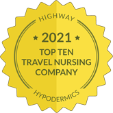 Highway Hypodermics Top Ten Travel Nursing Company (2021)