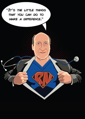 Bob, THS Super Nurse of the Month