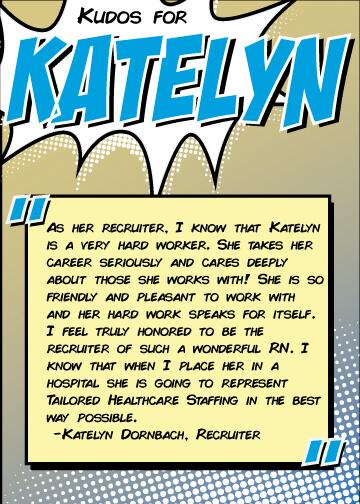Super Travel Nurse of the Month - Katlyn
