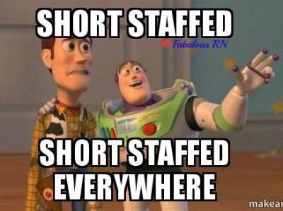short staff everywhere