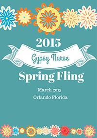 Gypsy Nurse Spring Fling banner