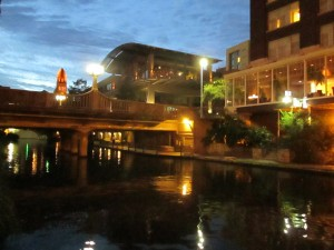 San Antonio night view