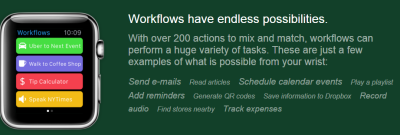 workflows have endless possibilities