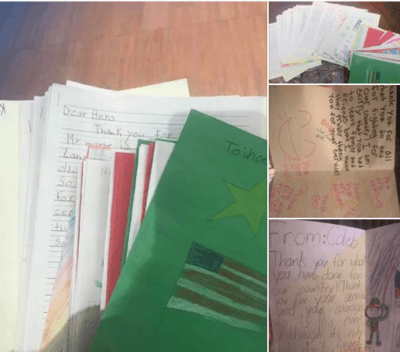 Letters from to super nurse