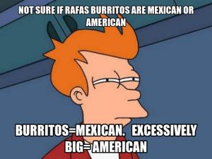 Rafa's burritos