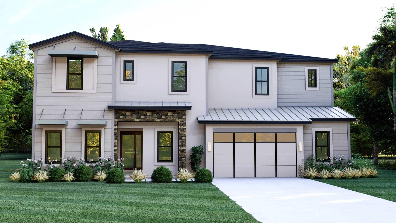 Vantage exterior elevation