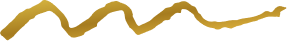 Wave doodle gold