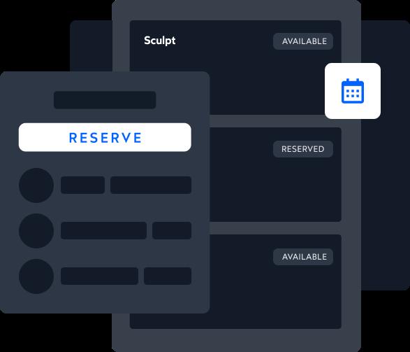 PushPress Branded Member App - one tap reservations