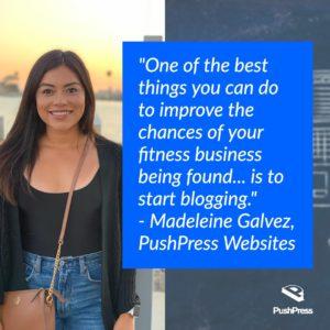 gym management software - blogging for more customers