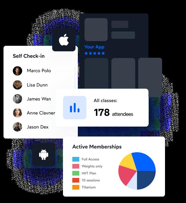 PushPress Branded Member App for Gyms