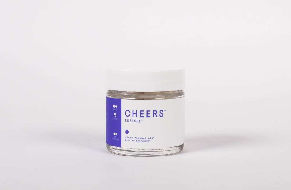 Cheers Restore - After-alcohol aid 4-dose