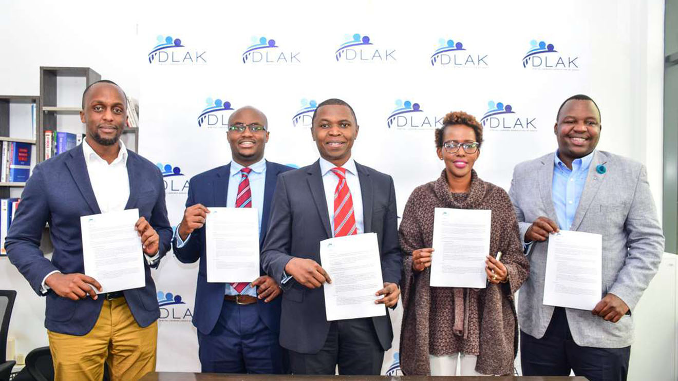 A section of the Digital Lenders Association of Kenya (DLAK). The association was launched in early 2019 with 11 founding members including Tala, Alternative Circle, Stawika Capital, Zenka Finance, MyCredit, Okolea, Lpesa, Four Kings Investment, Kuwazo Capital and Finance Plan. PHOTO | FILE
