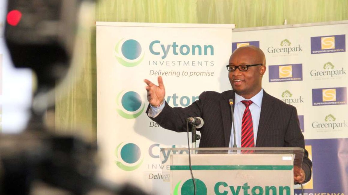 Cytonn Investments Chief Executive Officer Edwin Dande. PHOTO | NMG