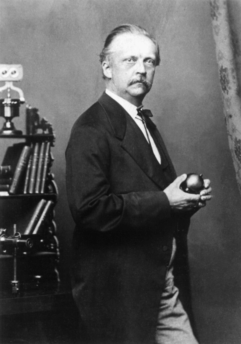 Porträt von Hermann von Helmholtz
