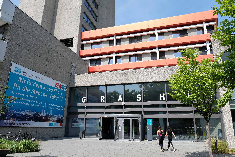 Beuth Hochschule für Technik Ansicht vom Campus Haus Grashof