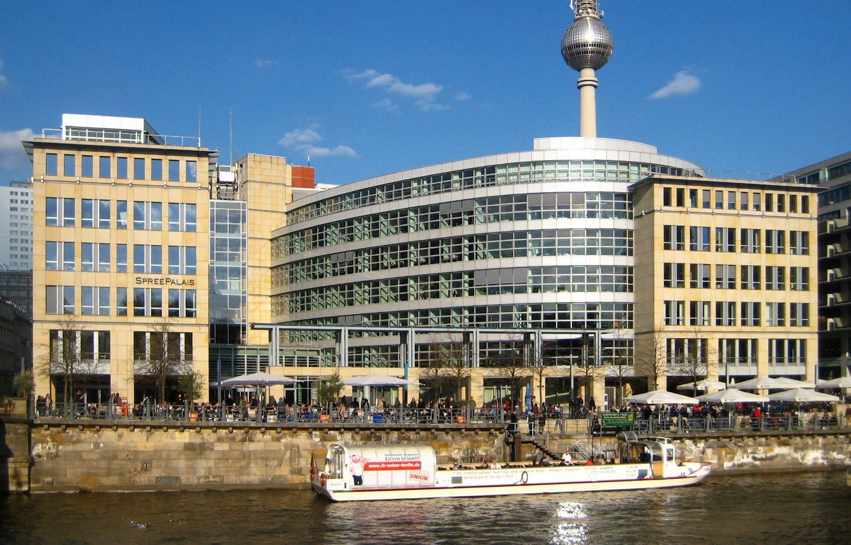 Ansicht Büro Helmholtz-Geschäftsstelle in Berlin im Spreepalais