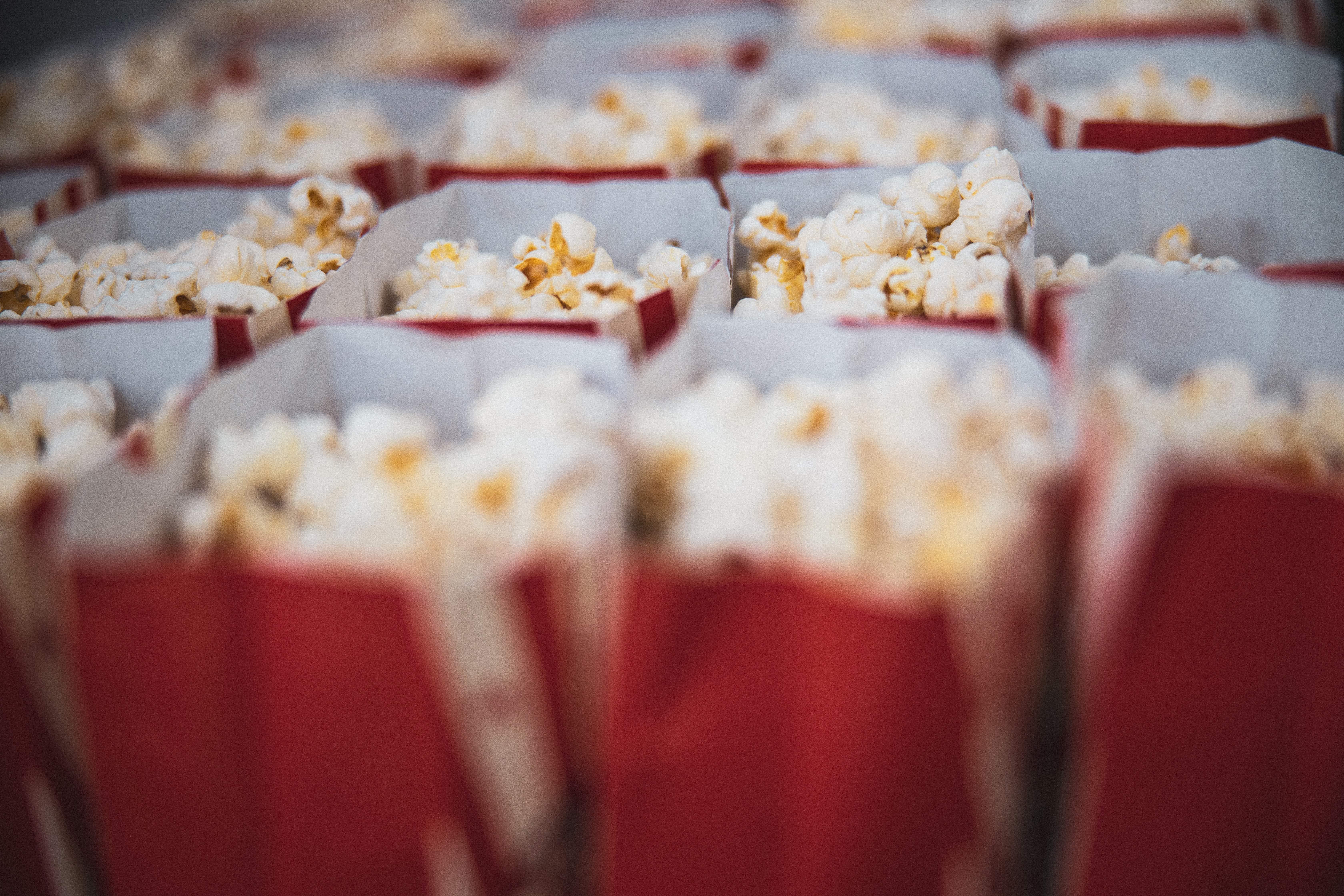 Foto von Popcorn