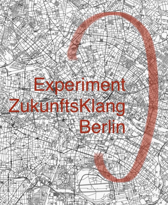 Schwarz-weiß Bild von Stadtansicht aus der Vogelperspektive, mit Logo von Querkland