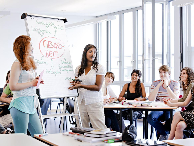 Foto aus Klassenraum