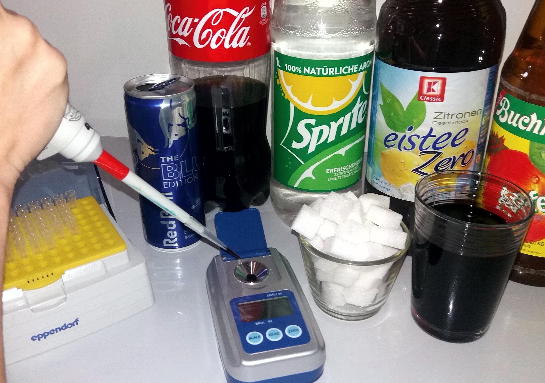 Foto von Cola, Spirte, etc. Flaschen