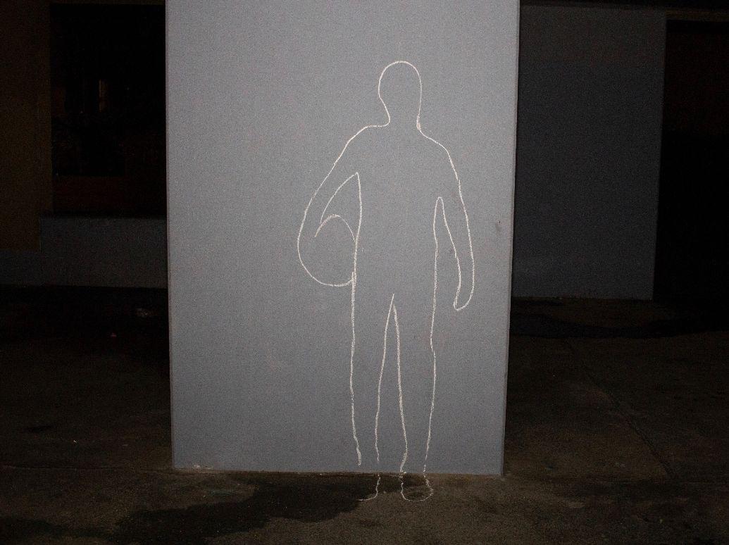 Foto von Körperzeichnung