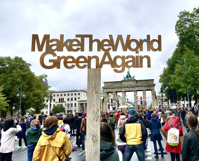 Foto von Klima-Demonstration