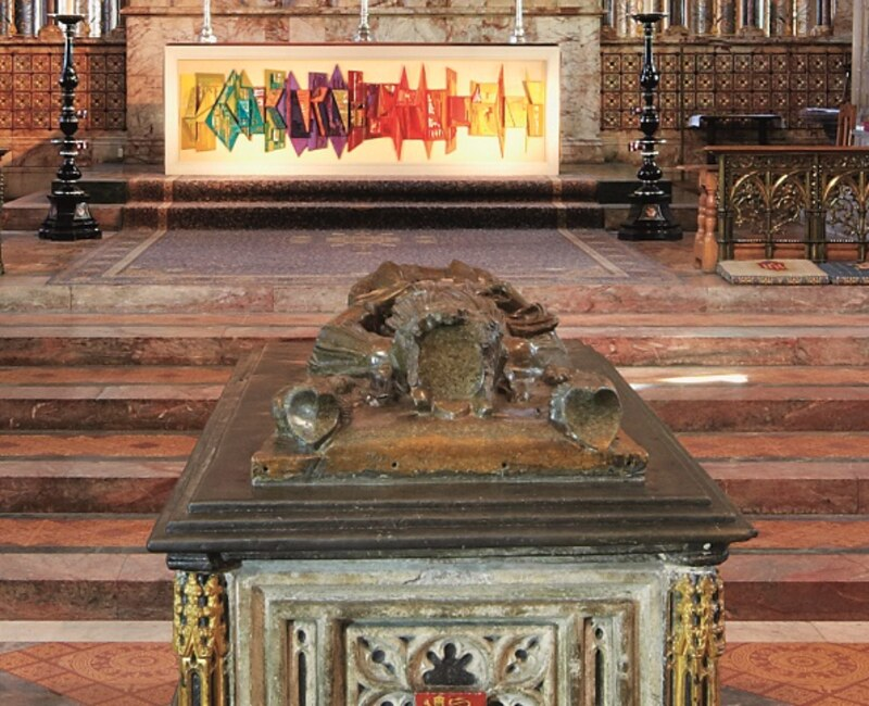 King John's Tomb in front of the high altar.