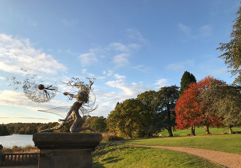 Trentham Estate fairy and landscape.