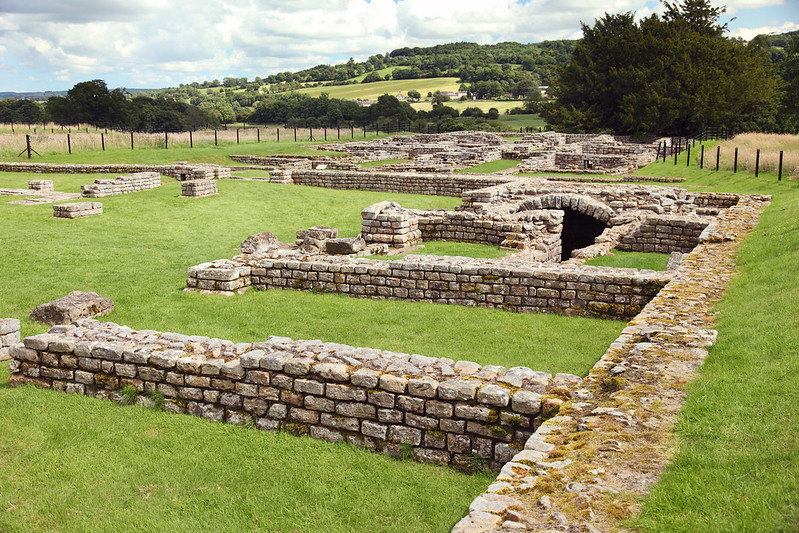 Another Roman Fort, the ruin of Chesters, which is on Hadrian's Wall.