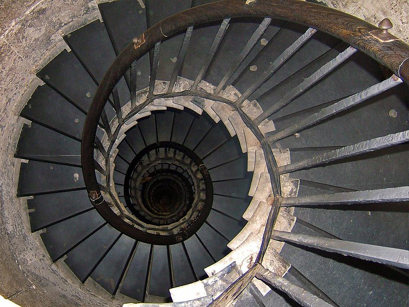 Stairs at Monument.
