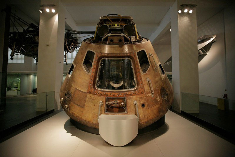A space artefact at the Science Museum.
