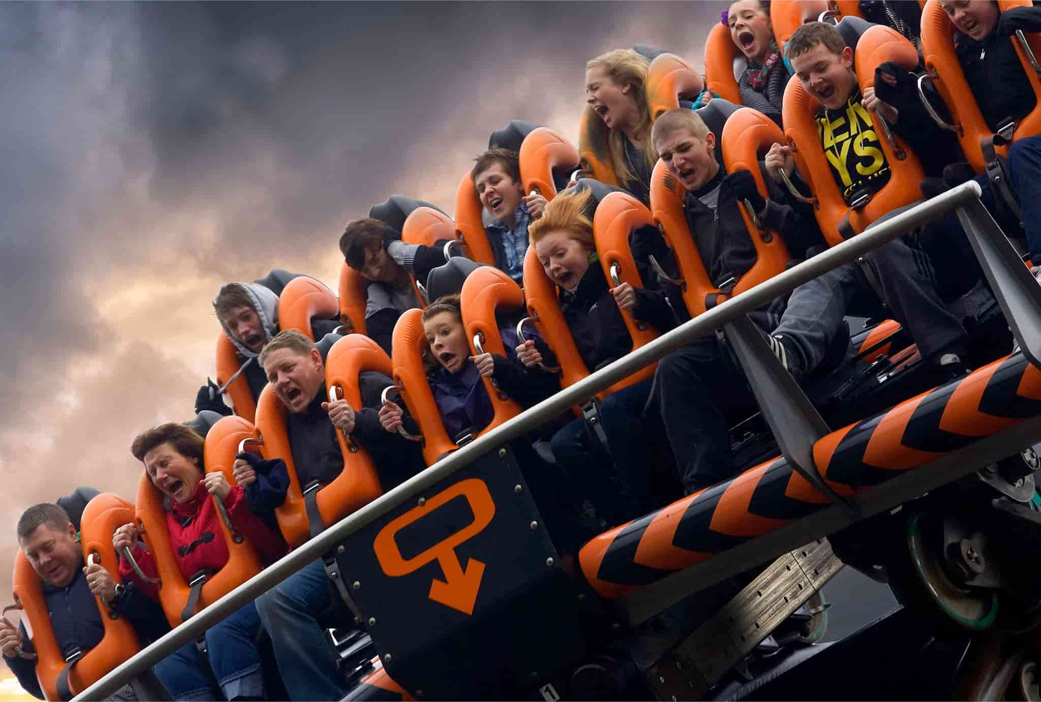 Rides and attractions at Alton Towers