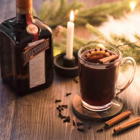Nos recettes de cocktails chauds avec Cointreau