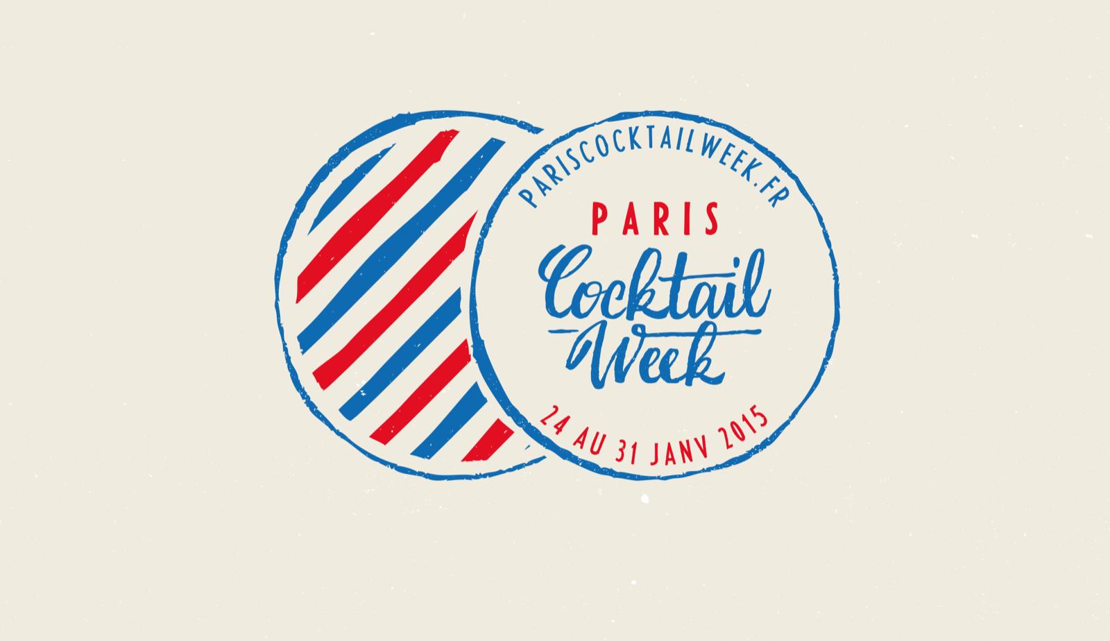 La Paris Cocktail Week du 23 au 30 janvier 2016 !