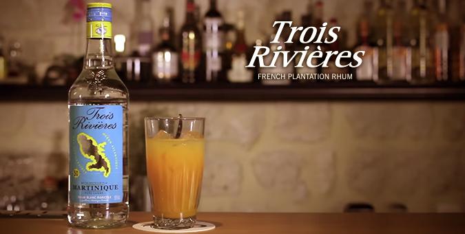 30 secondes pour un cocktail – Rhum Trois Rivières