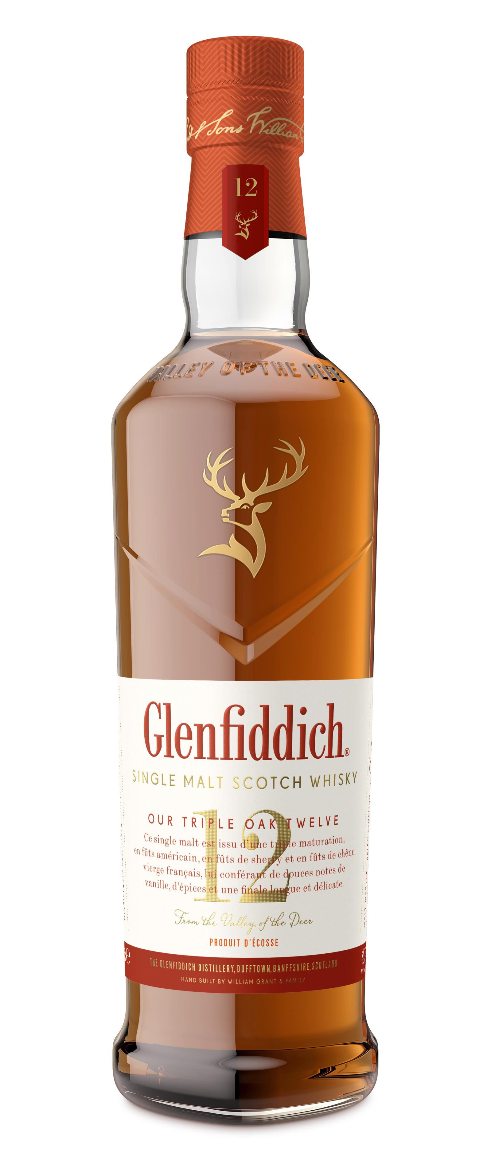 Glenfiddich 12ans Triple Oak