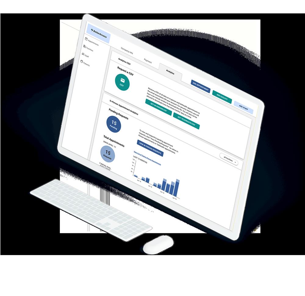 betteraccess data dashboard
