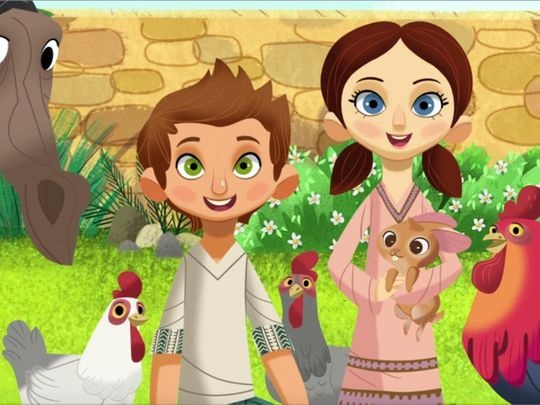 Aya and Yusuf new animated series for children on Islam Channel Kids