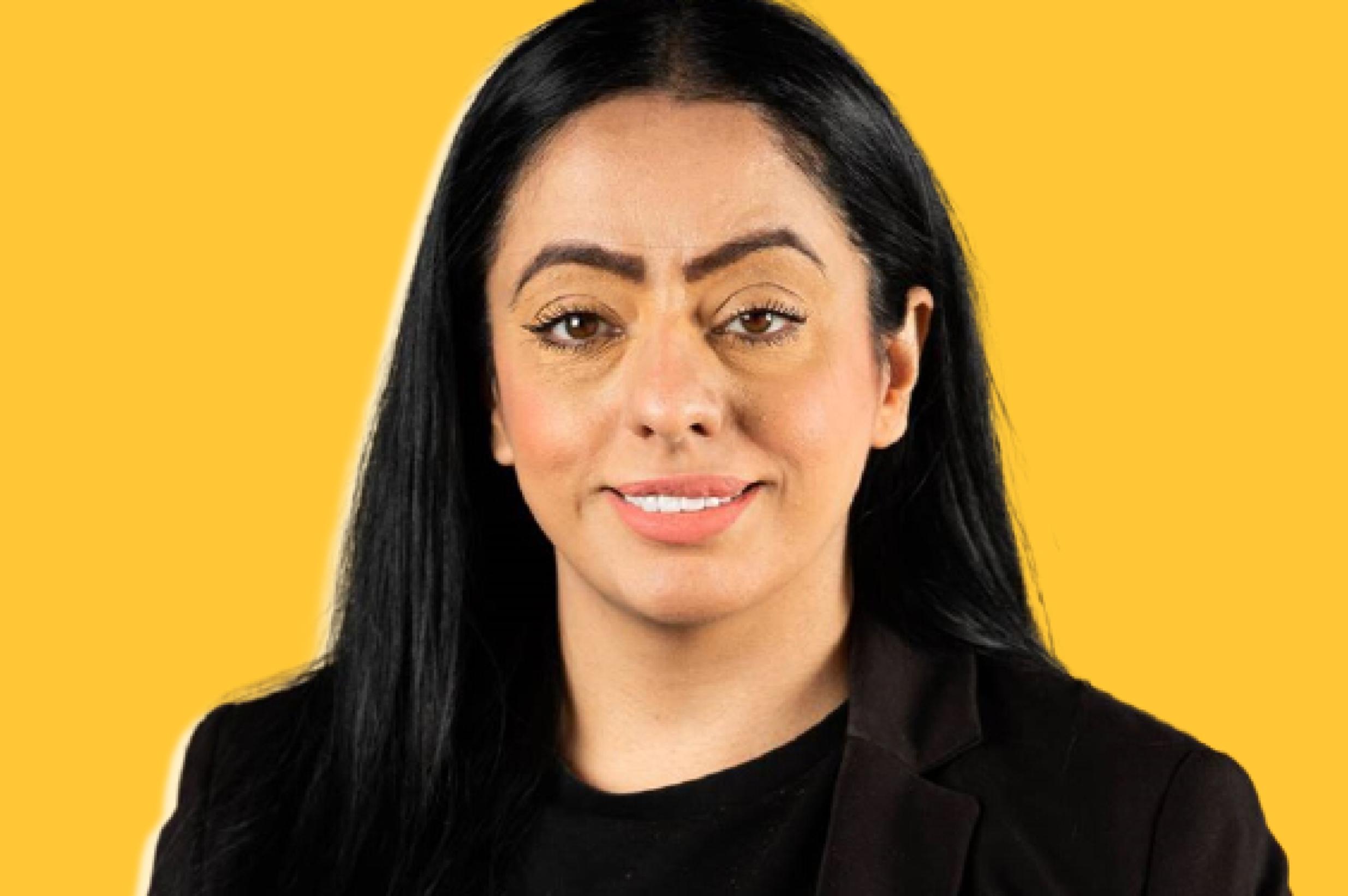 Oldham's first female Muslim leader, Arooj Shah