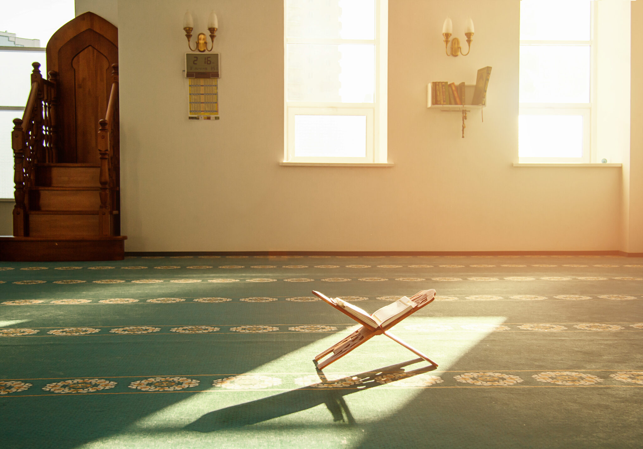 Increase in number of mosques in US